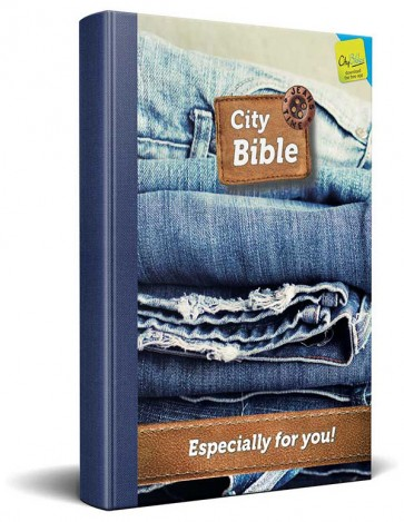 English New Testament Bible Jeans Cover