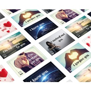 English How are you Cards 60 pieces package