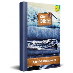 Italian New Testament Bible Jeans Cover