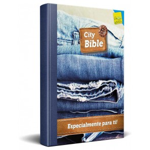 Spanish New Testament Bible Jeans Cover